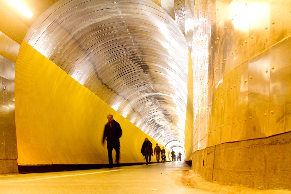 Brukenberg Tunnel to the Light