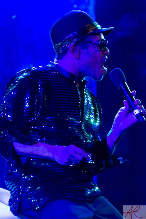 Bobby Womack in concert at the Stockholm Jazz Festival