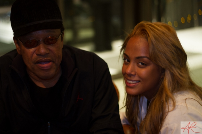 Bobby Womack & daughter Gina-Re Womack